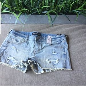NWT EXPRESS Frayed Hem Shorts